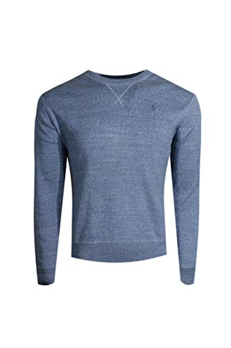 ns Fleece Pullover Sweater (Medium, Winter Blu HTR) ()