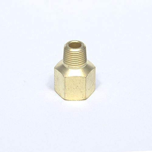 FasParts Brass Pipe Reducer Adapter Male to Female Adaptor Fitting 1/4