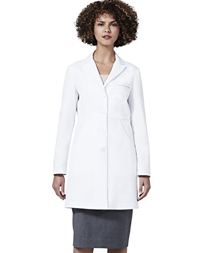 dcd79607fd8 Medelita Women's Miranda B. Slim Fit M3 White Lab Coat (12, White ...