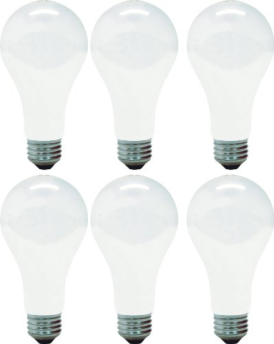 GE Lighting Soft White 46814 150-Watt, 2680-Lumen A21 Light Bulb with Medium Base, - A21 Incandescent Medium Base