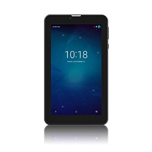 "Tablet 7 inch Android 7.0, 3G Phone Call Tablets with Dual Sim Card Slots,Dual Camera,7"" Display, 8GB, WiFi, Bluetooth,GPS"