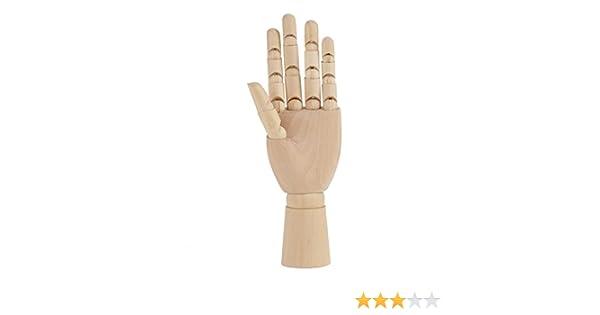 Garosa Art Mannequin Hand Model Women Hand Sculpture Mannequin Wooden Body Artist Model Jointed Articulated Models #1