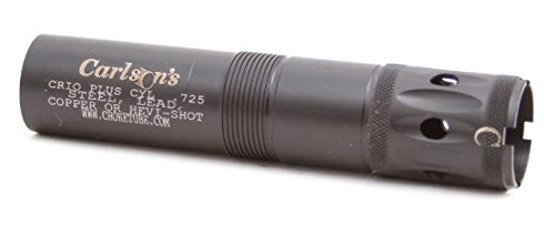 67030 Carlsons, Benelli Crio Plus Ported Sporting Clay Choke Tube, 12 Gauge, Cylinder, .725