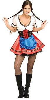 6 Pack Beer Halloween Costume (Sexy Beer Garden Girl Costume - Womens)
