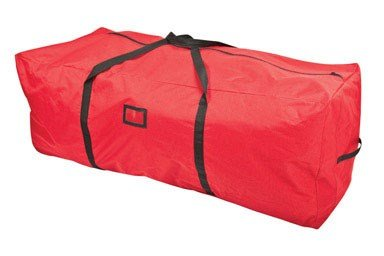 Santas Bags SB-10133 Christmas Tree Storage Bag for 6-9-Feet Trees – Red