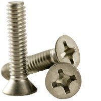 """No.12x3/"""" 5.5x75mm Pack of 100 A2 Stainless Steel Pozi Countersunk Wood Screws"""