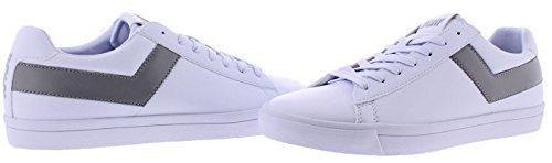 Pony Top Ster Heren Retro Fashion Rechter Sneakers Schoenen Wit / Grijs