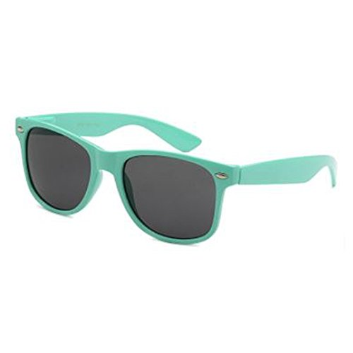 Epic Brand Wayfarer Sunglasses Collection for Men and Women | Classic 80's Retro Vintage Fashion Timeless Style (Mint, Black 52mm - Mint Wayfarer Sunglasses