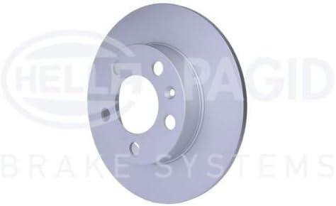 Surface: rev/êtu Essieu arri/ère HELLA PAGID 8DD 355 105-411 Disque de frein PRO Jeu de 2 Disque de frein