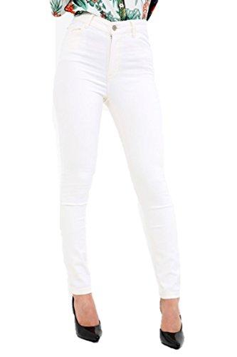 Skinny mujer Ex White MANGO Vaqueros para Off qnEExZ4Fw