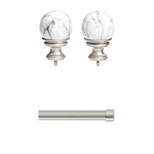 - AmazonBasics Marble Ball Finial with 1
