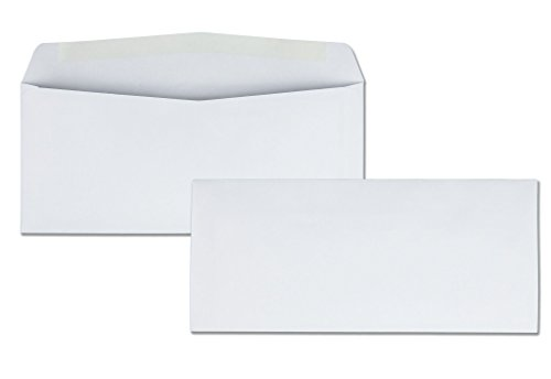 Quality Park Business Envelope, #10, 4 1/8 x 9 1/2, White, 500/Box (90020) (9 1/2 White 500 Envelopes)