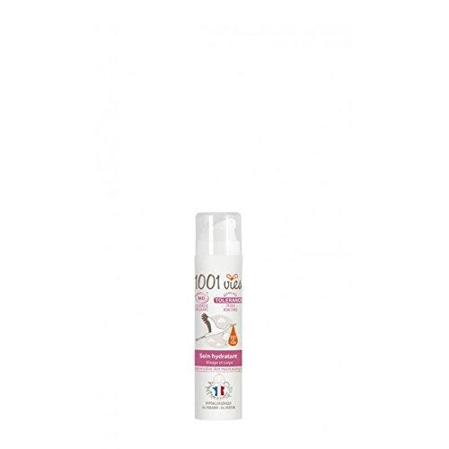 Soin hydratant - Gamme Tolérance pour peaux réactives et hypersensibles - 1001 vies