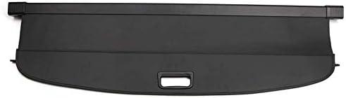トノカバー カバーボード アルミ+キャンバス生地 ブラック「メルセデス・ベンツ(Mercedes Benz) GLCクラス X253 2016-2018」に適合 HANBUN