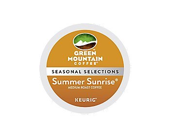 Green Mountain Coffee® Summer Sunrise® Combination Coffee (48 Count)