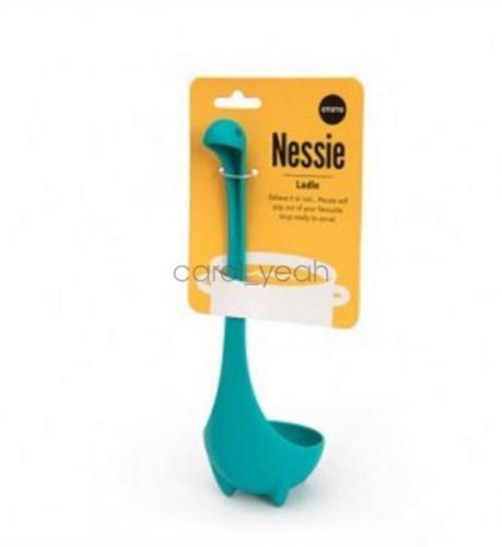 MAZIMARK--Creative lake blue cute animal dinosaur spoon porridge spoon ladle kitchen home by MAZIMARK