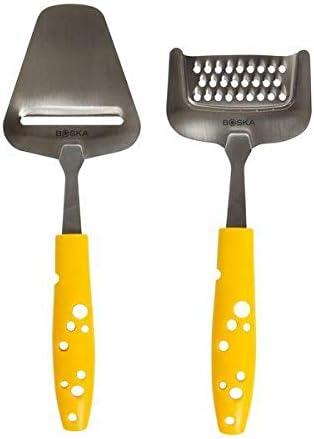 Käsehobel und Käseraspel für Hartkäse Käseset Cheesy