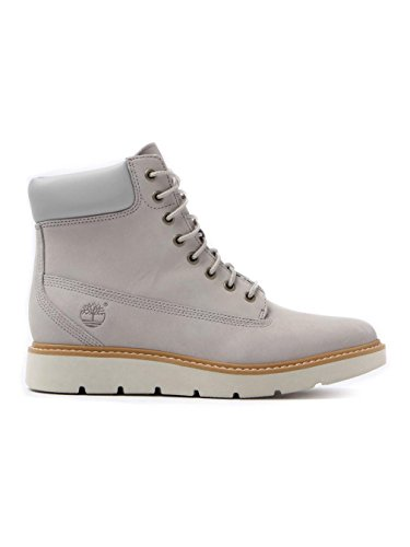 Timberland Womens Kenniston 6In Lace Up Leather Boots - Flint Grey