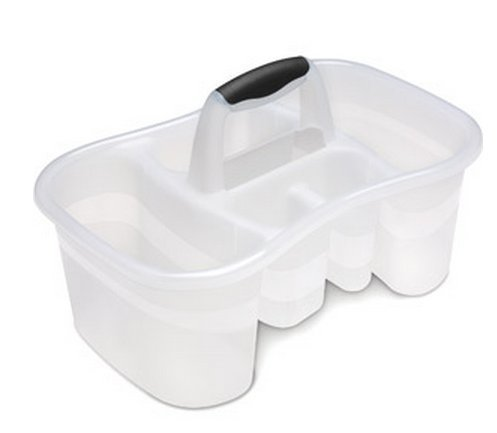 Sterilite Caddy Compartments Large Clear product image