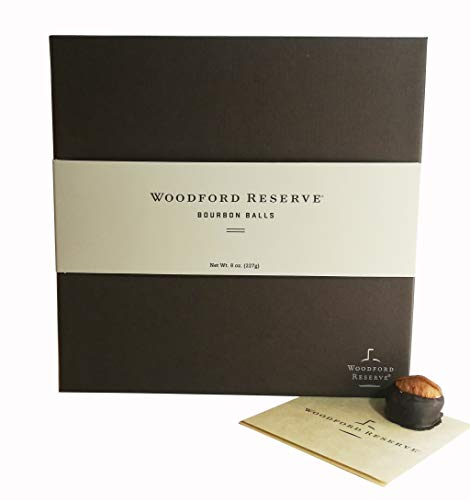(Woodford Reserve Bourbon Ball Gift Box, 16 Candies per box, delicious and perfect for holiday gifts)