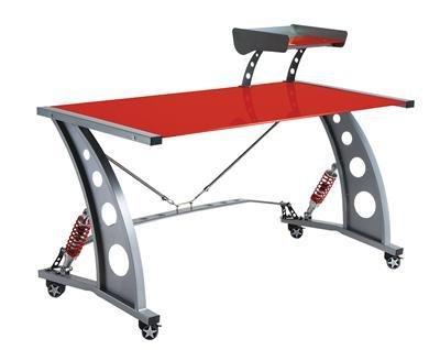 Alloys Spoiler - Pitstop GT Spoiler Desk w Red Glass