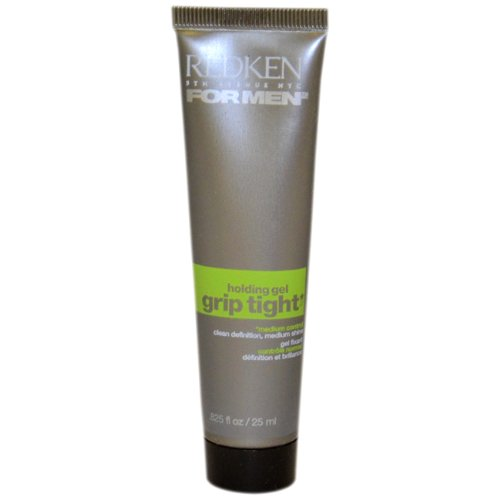 Redken for Men Grip Tight Medium Control Hold Gel 5 oz (Pack of 2) (Mens Grip Tight Redken)