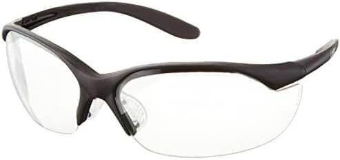 Howard Leight by Honeywell Vapor II Sharp-Shooter Shooting Glasses, Clear Lens (R-01535)