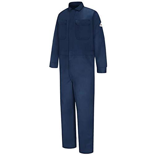 Bulwark Arc Flash PPE Category 2 Navy Blue 8.5 Cal Coverall (2XL)