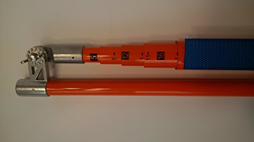 AutoHauler Supply AH-REDSTICK-20 20-Foot Heavy Duty Height Measuring Stick by AutoHauler Supply (Image #2)