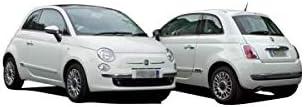 500C//595C//695C schwarz passt f/ür 500 500 C DM Autoteile Au/ßenspiegel rechts elektr