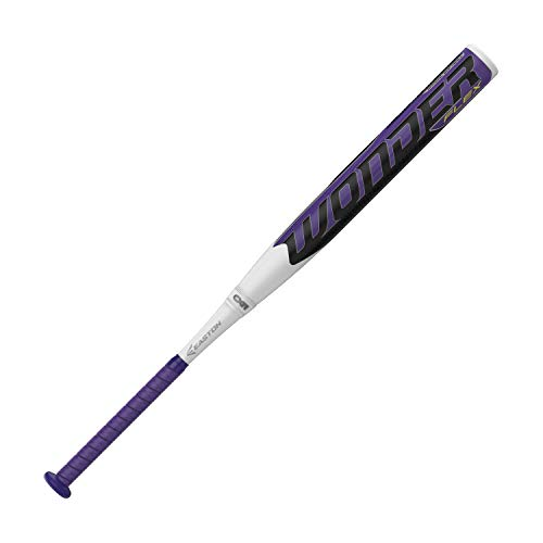 EASTON Wonder -12 Fastpitch Softball Bat | 29 inch / 17 oz | 2019 | 2 Piece Composite | Flex Barrel | CXN ZERO ConneXion+ | TCT Composite | Cert. - Composite Youth Bat