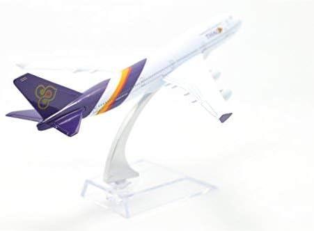 TM 1:400 16cm B747-400 Thai Airlines Metal Airplane Model Plane Toy Plane Model TANG DYNASTY