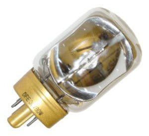 GE General Electric DFE 80 watt 30 volt Projection Lamp / Movie Projector Light Bulb