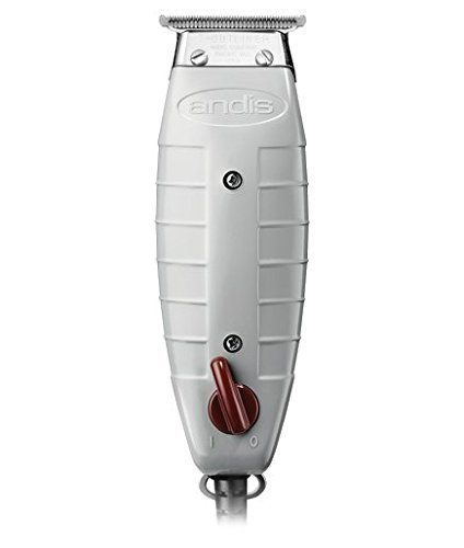 Andis Professional T-Outliner Beard Hair Trimmer with T-Blade, Gray, Model GTO 04710 with a BeauWis Blade Brush