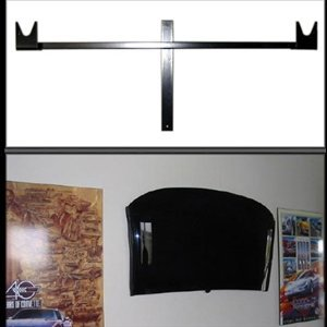 (Corvette Coupe Wall Mount Roof Rack : C5)