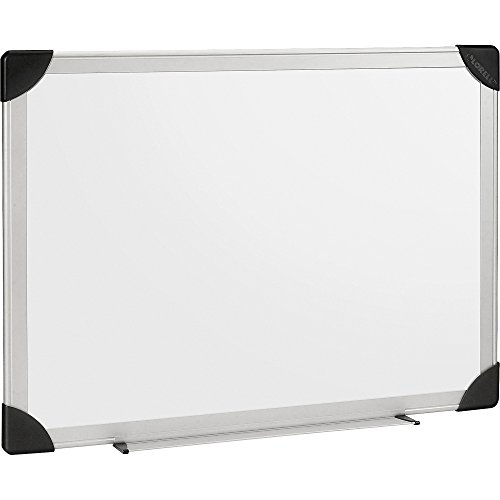 Lorell 55651 Dry-Erase Board, 3'x2', Aluminum Frame/White by Lorell