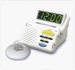 Sonic Alert SB1000C Classic Alarm Clock w Super Shaker