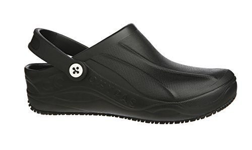 Oxypas Smooth, Unisex Adults' Safety Shoes, Black (Blk), 9 UK (43 EU) Black (Blk)