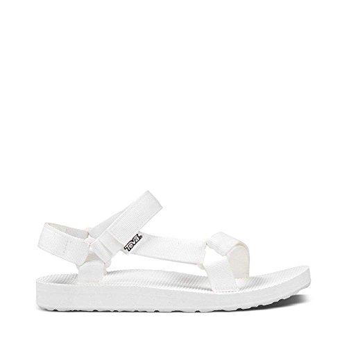 White Microban (Teva Women's Original Universal Sandal, Bright White, 10 M US)