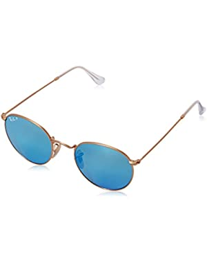 Men's ORB3447 Polarized Round Sunglasses