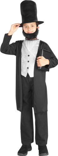 Forum Novelties Abraham Lincoln Child Costume-Large (12-14)