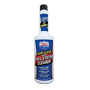 Lucas Oil 10512 Deep Clean Fuel System Cleaner - 16 oz.