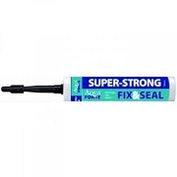 SuperStrong - MS Poly Mar adhesivo, pegamento, acuarios elástico 290 ml, color blanco: Amazon.es: Jardín