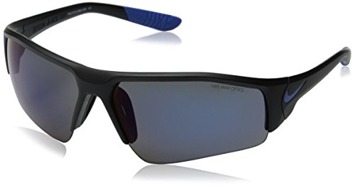 Nike EV0859-004 Skylon Ace XV R Sunglasses (One Size), Matte Black/Game Royal, Grey with Blue Night Flash Lens