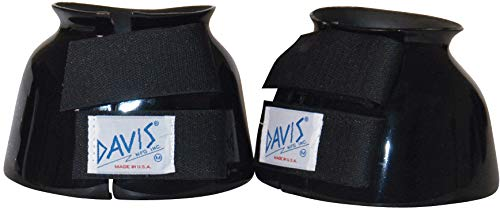 Davis Pro-Fit Bell Boot - Large Pair in Black