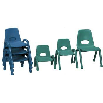Husky Classroom Stacking Chairs - 15 1/2 Inch, Blue Husky Stacking Chair