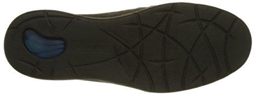 Stonefly Space up 1 Nubuk, Pantofole Uomo Grigio (Charcoal 1a12)