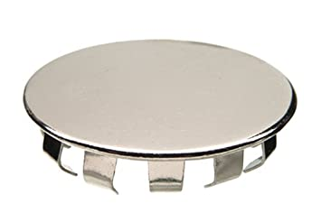 Danco 80247 1 1/2 Inch Kitchen Faucet Hole Cover, Chrome
