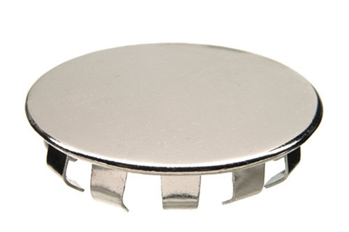 Danco 80247 Snap Hole Cover, for Use with All Standard Sinks, 1-1/2 in W X 0.12 in H, Stainless Steel, 1-1/2-Inch