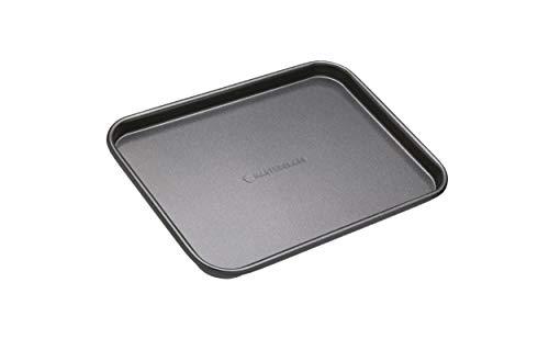 MasterClass Bakplaat met antiaanbaklaag, carbon, grijs, 24 x 18 cm